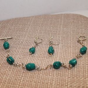 Bracelet and Earring set made by IslaAjaFr